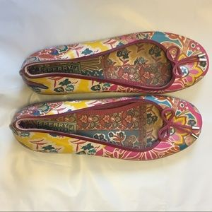 Sperry Top Sider Paisley Jelly Flats
